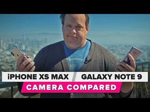 iPhone XS Max vs. Galaxy Note 9 camera shootout
