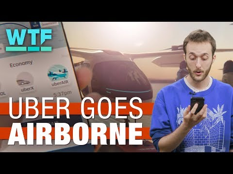 Uber goes airborne with Uber Air | What The Future
