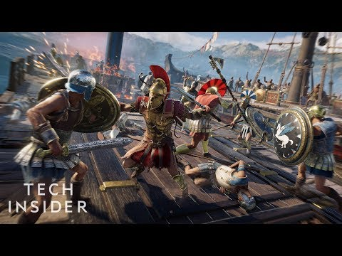 Let's Play 'Assassin's Creed Odyssey' on PlayStation 4
