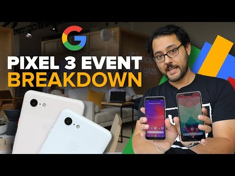 We break down the Google Pixel  3 event (Alphabet City)