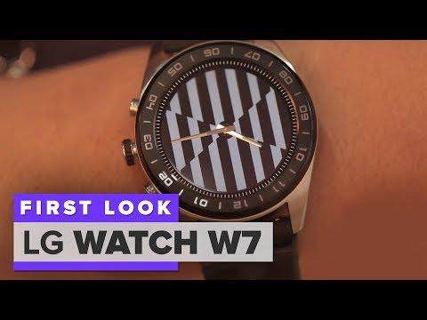 LG Watch W7 first look: It's a crazy mechanical-smartwatch blend