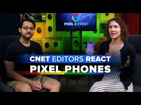 Pixel 3 and 3 XL: CNET editors react